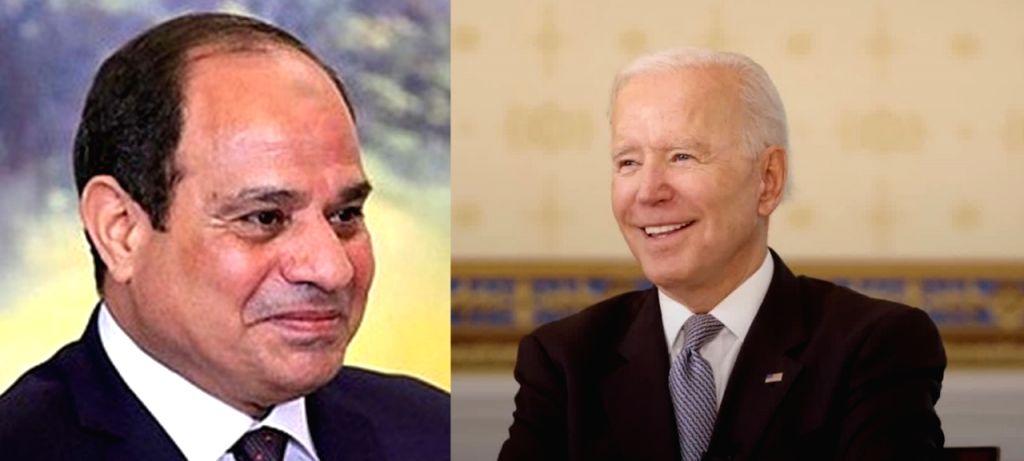 Joe Biden and Abdel Fattah Al-Sisi.(photo:Instagram)