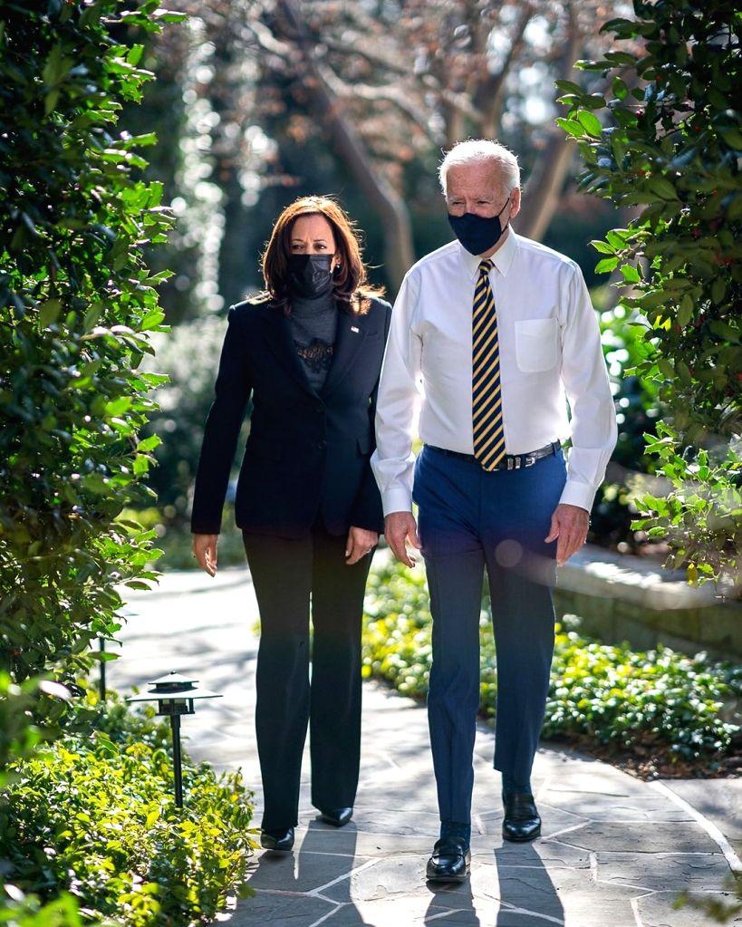 Joe Biden and Kamala Harris (Credit: Instagram)