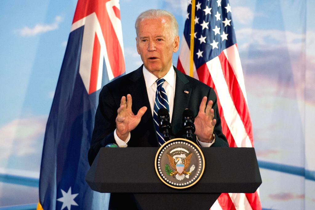 Joe Biden. (Xinhua/Bai Xue/IANS)