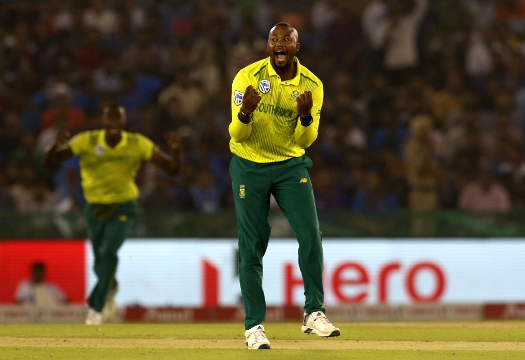Johannesburg, June 5 (IANS) South Africa cricketer Andile Phehlukwayo believes Proteas aren't too far away from ending their World Cup drought despite their woeful performance in the showpiece event in England and Wales last year.(File Photo: Surjee - Surjeet Yadav