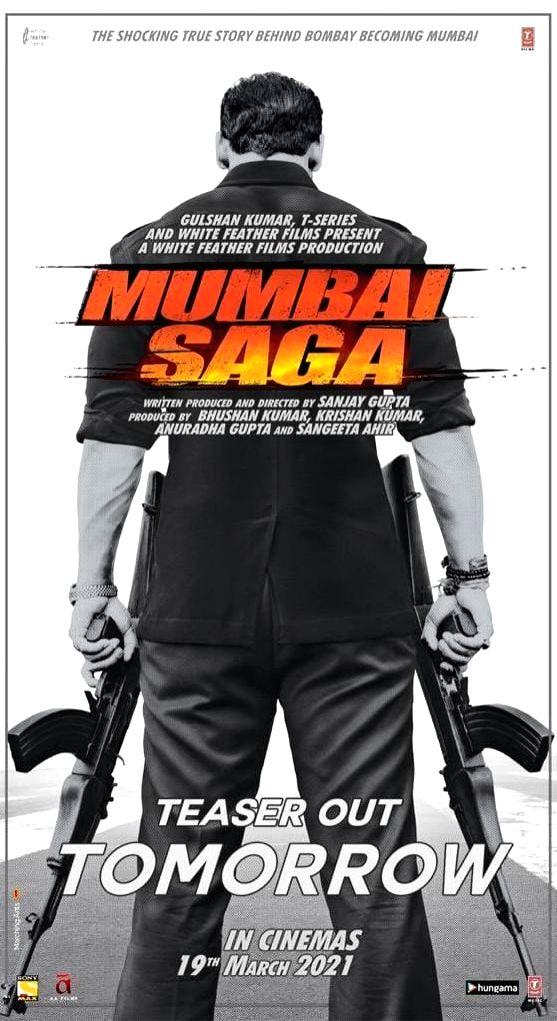 John Abraham, Emraan Hashmi-starrer 'Mumbai Saga' releasing on March 19 - John Abraham