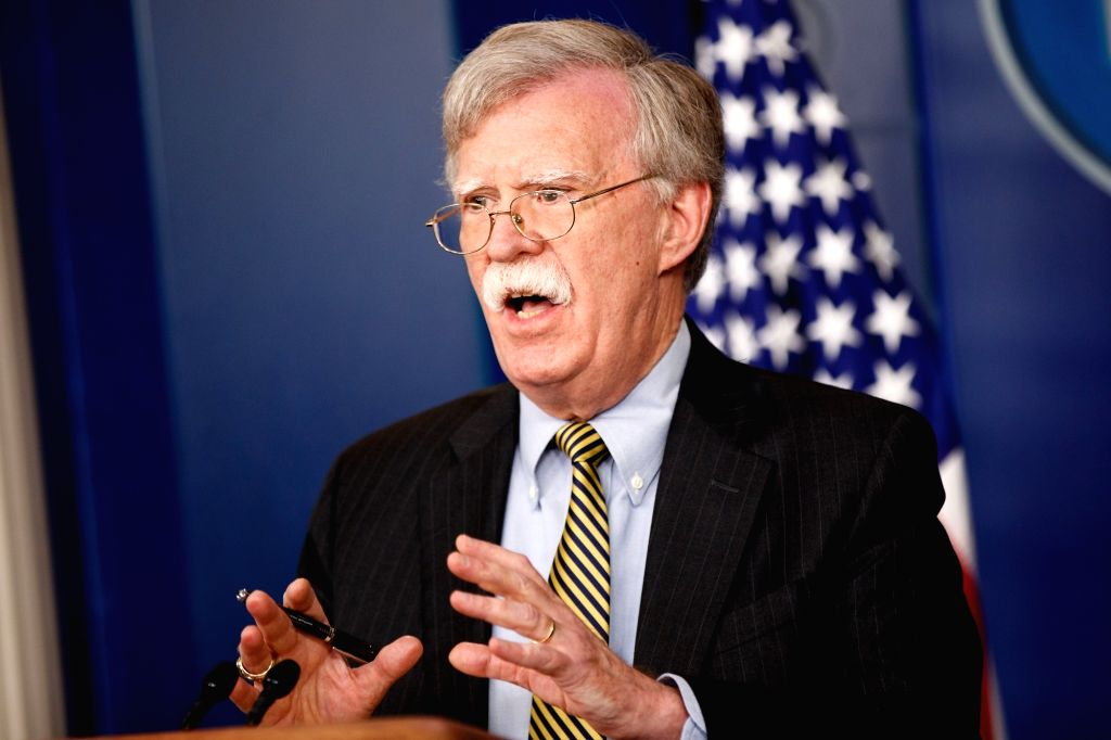 John Bolton. (File Photo: Xinhua/Ting Shen/IANS)