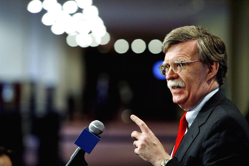 John Bolton, who was fired by US President as National Security Adviser. (Photo: UN/IANS)