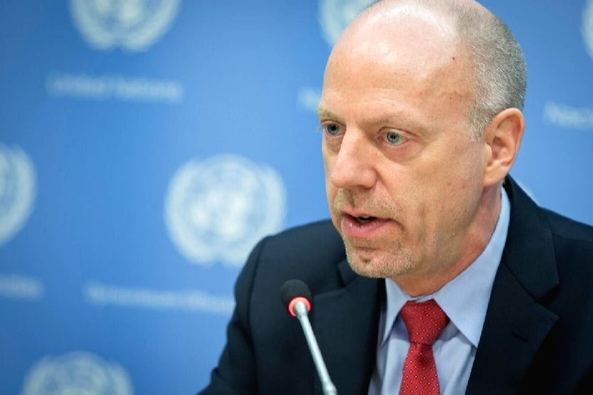 John Wilmoth, the director of UN's Population Division at the Department of Economic and Social Affairs