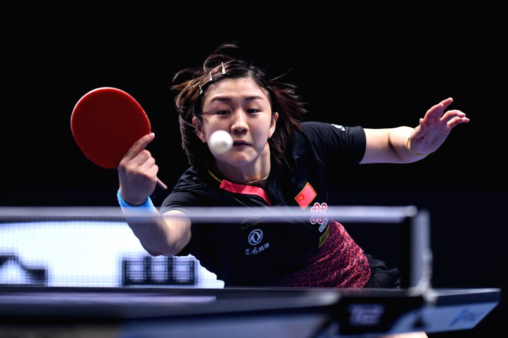 JOHOR BAHRU, July 18, 2019 - Chen Meng of China competes during the women's singles first round match agains Doo Hoi Kem of Hong Kong of China at T2 Diamond 2019 Malaysia day 1 in Johor Bahru, ...