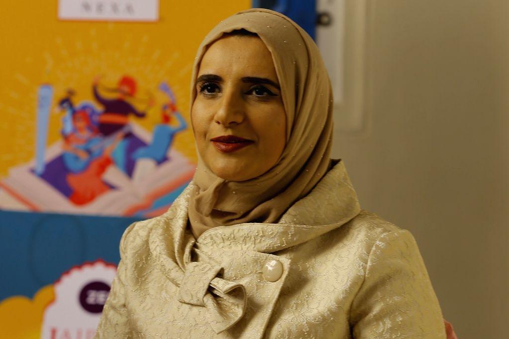 Jokha Alharthi.