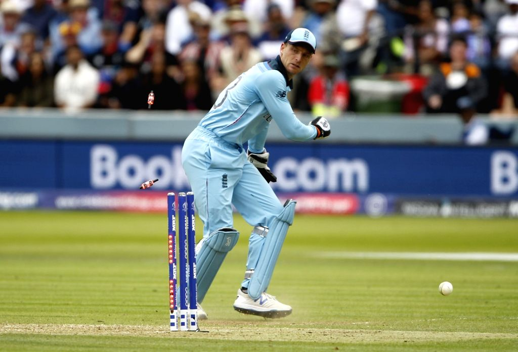 Jos Buttler. (Photo: Surjeet Yadav/IANS) - Surjeet Yadav