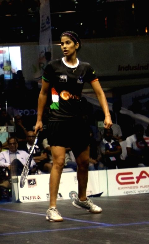 : Joshna Chinappa. (File Photo: IANS).