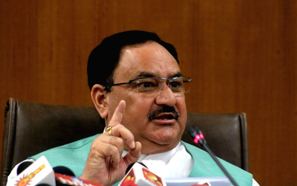 JP Nadda. (File Photo: IANS)