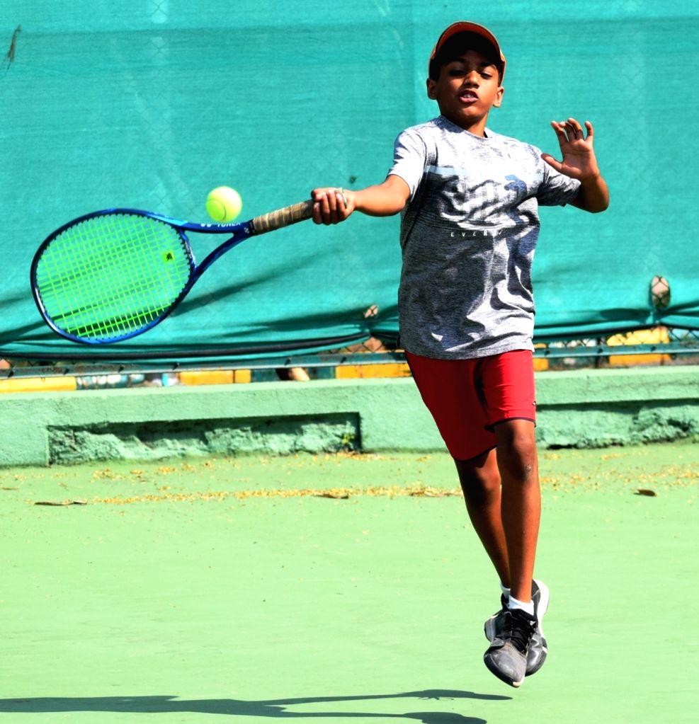 Jr National Tennis: Shelke fights hard to win, progress