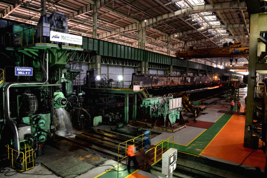 JSW Steel plant in Ballari, Karnataka. (Photo: IANS)