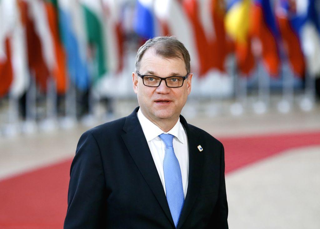Juha Sipila. (Xinhua/Ye Pingfan/IANS)