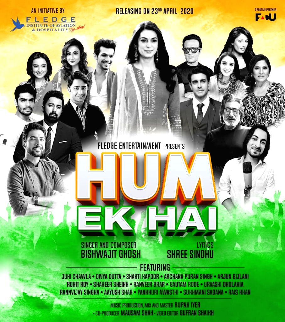 Juhi Chawla, Shakti Kapoor join real-life COVID-19 warriors for new song. - Juhi Chawla and Kapoor