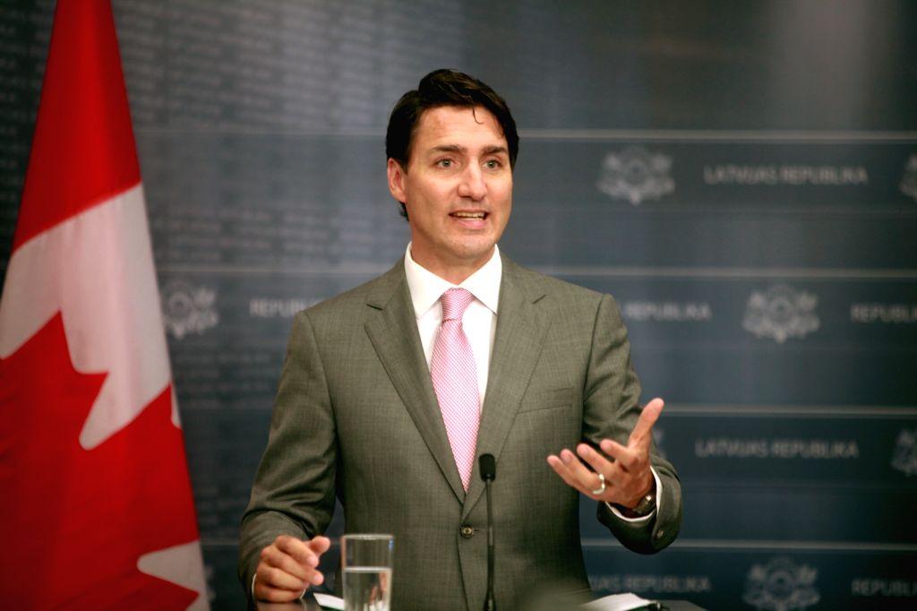 Justin Trudeau. (Xinhua/Janis/IANS)