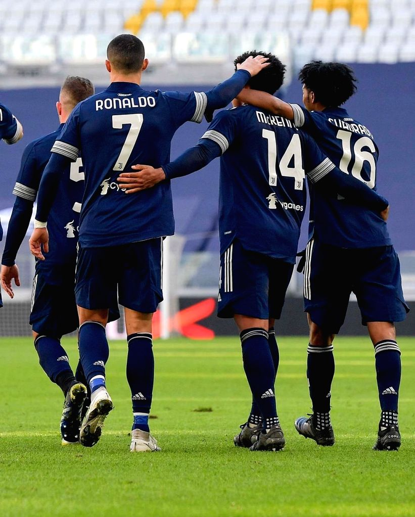 Juventus dominate Bologna in Serie A.(photo:Twitter Cristiano Ronaldo@Cristiano)