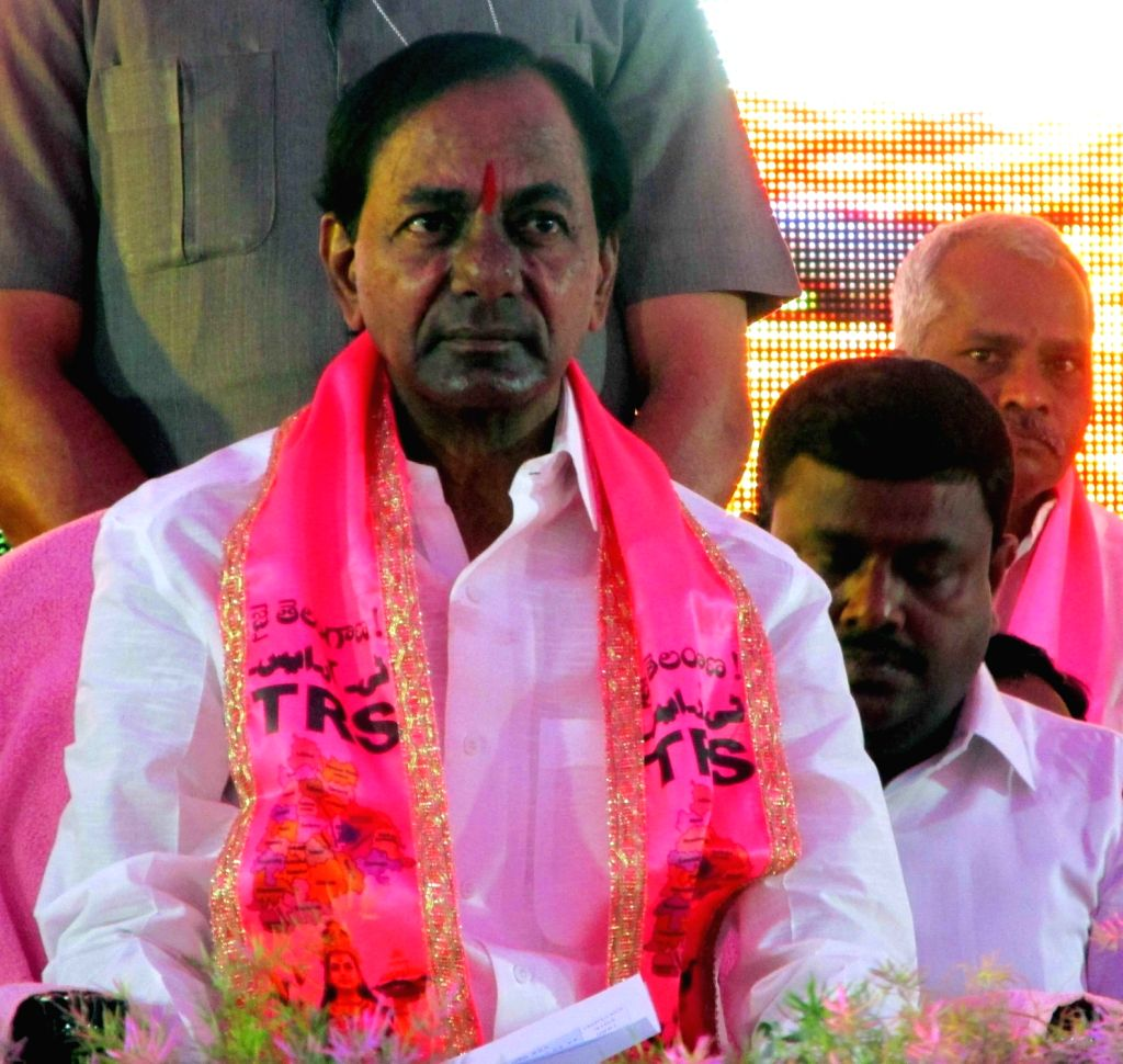 K Chandrashekhar Rao. (Photo IANS)