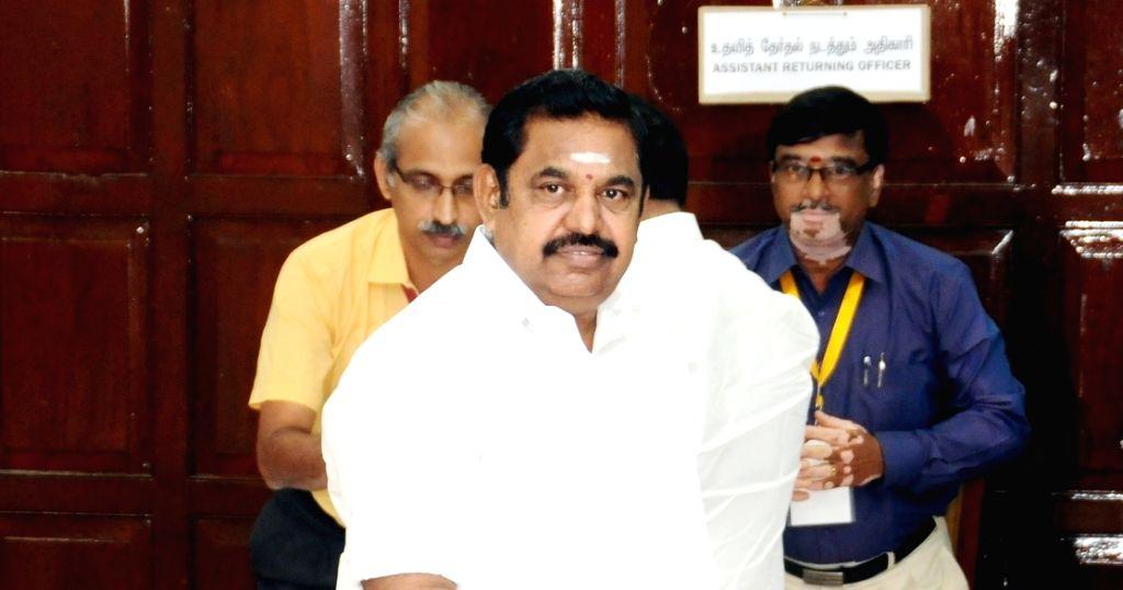 K. Palaniswami. (File Photo: IANS)