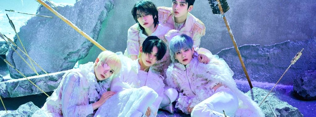 K-pop band TXT: Our music embodies our stories as young people.(photo:Facebook)