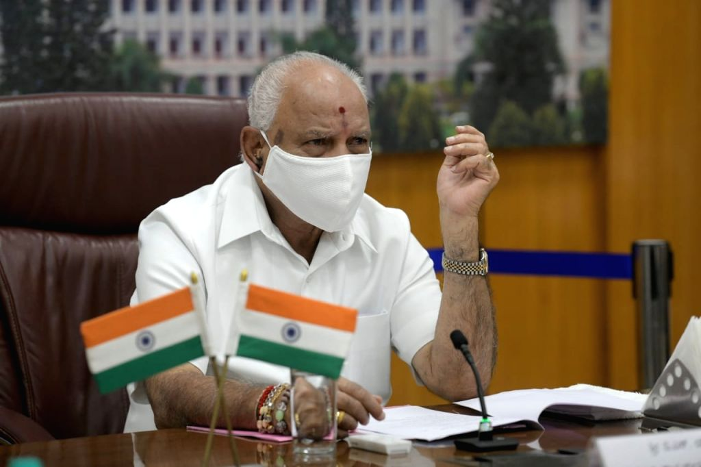 K'taka CM inaugurates Vedanta Cares Covid Field Hospital in Chitradurga