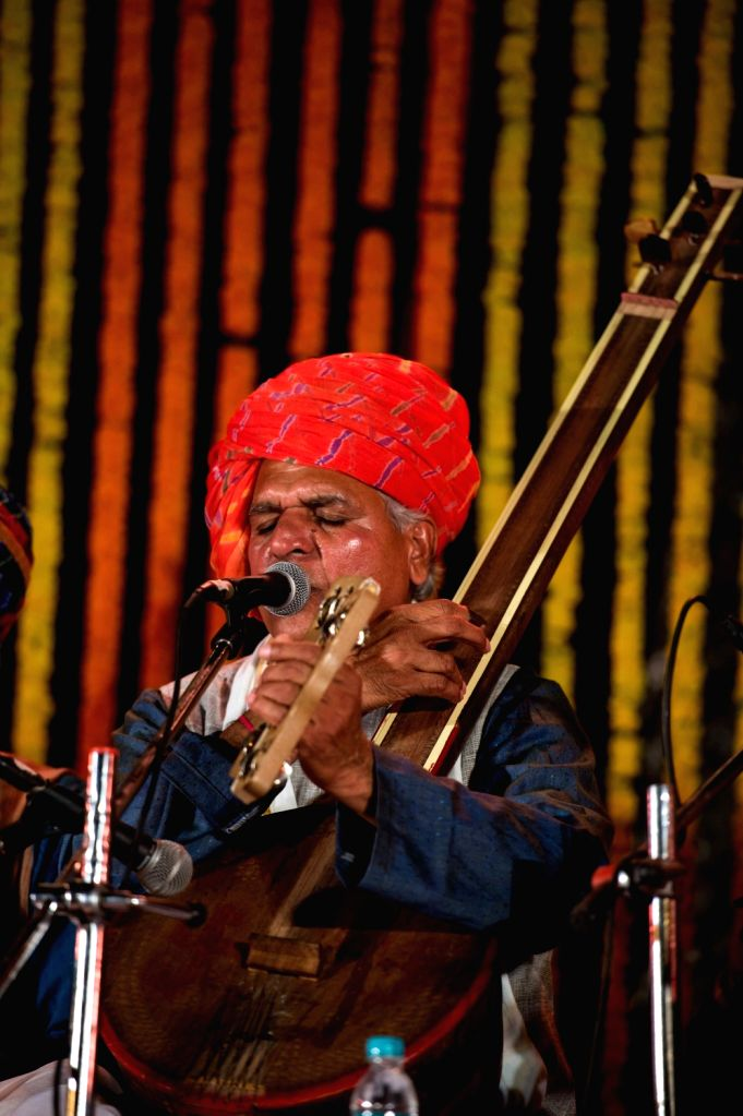 Kabir expert Prahlad Tipanya enthralled the audiences with his trademark singing while simultaneously discussing the works of the 15th century mystic poet in the Malwi folk style rooted in ...