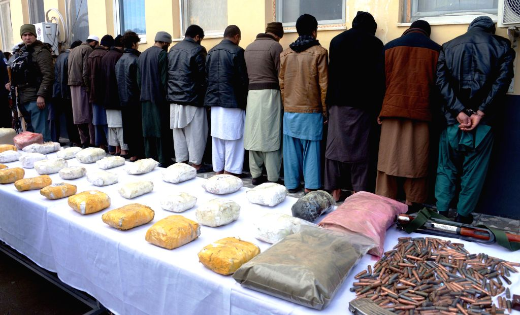 Kabul, June 3 (IANS) The Afghan National Police (ANP) has arrested 17 terrorists involved in a series of bomb attacks in Kabul, the country's Ministry of Interior said on Wednesday.