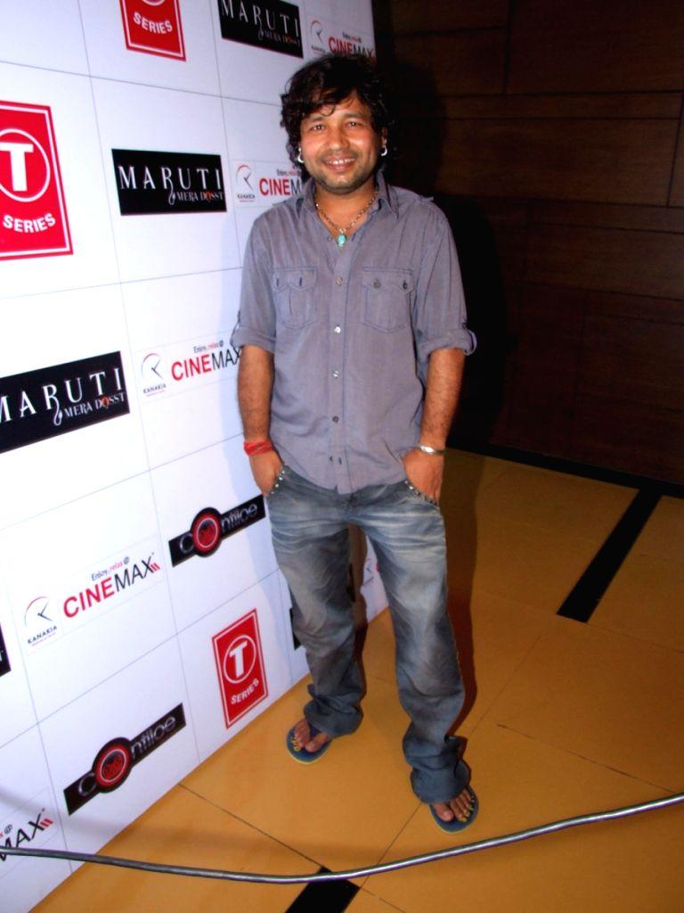 Kailash Kher at Maruti Mera Dost film Premiere at Fame in Mumbai. - Kailash Kher