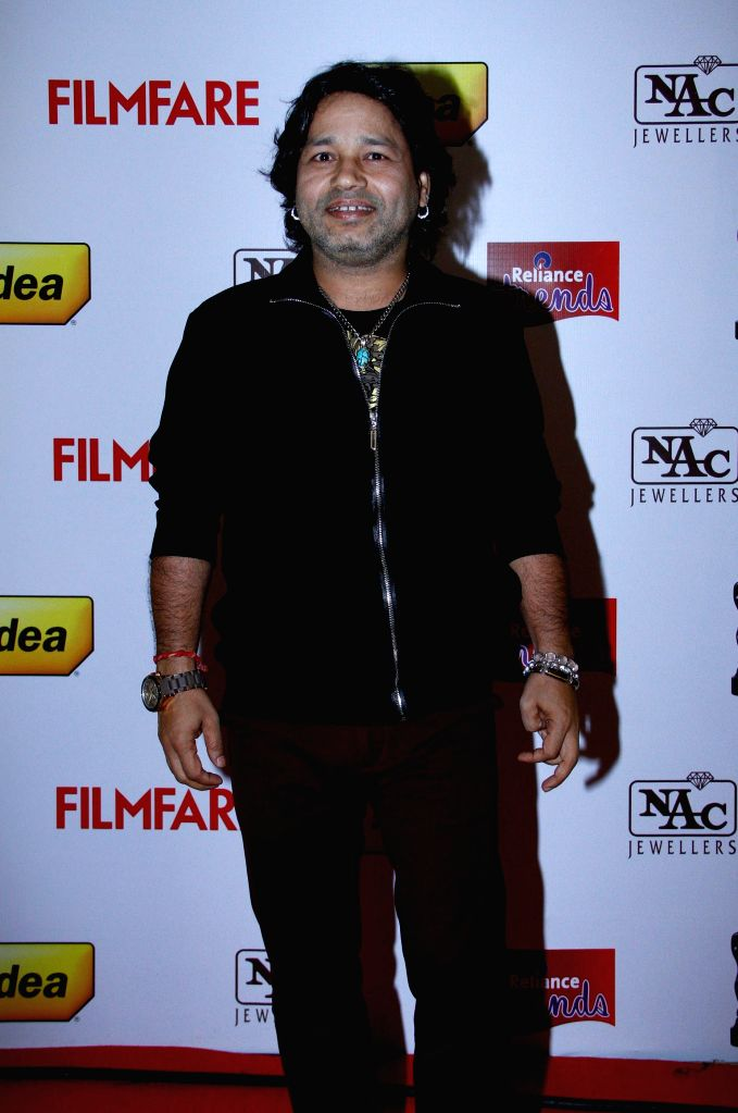 Kailash Kher at the `61st Idea Filmfare South Awards 2013` held in Chennai at Nehru Stadium. - Kailash Kher