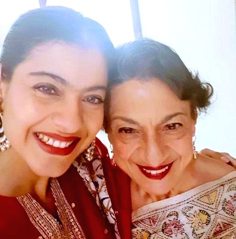 Kajol misses mom Tanuja amid lockdown. - Kajol