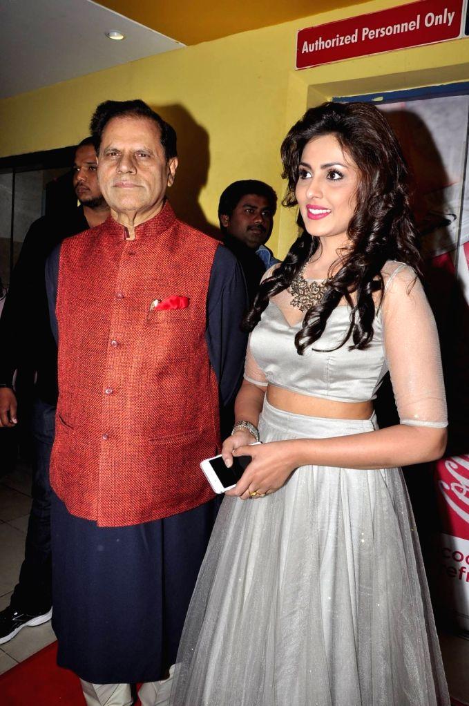 Kamal Hasan, Trisha and Prakash Raj acted Cheekati Rajyam Movie Premiere show