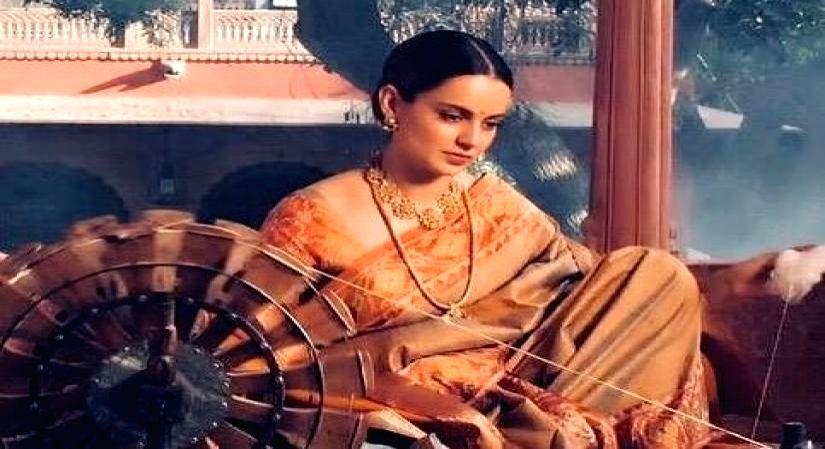 Kangana Ranaut promotes handloom, handmade and artisanal creations. - Kangana Ranaut