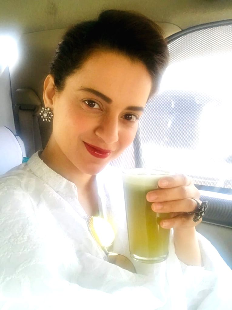 Kangana Ranaut warns against harmful effects of drugs. - Kangana Ranaut