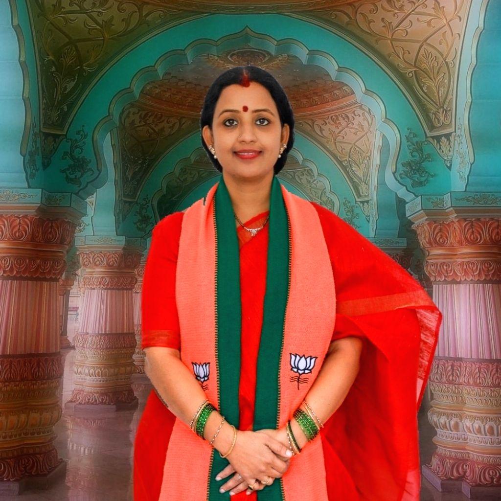 Kankanala Niveditha Reddy . ( Credit : Niveditha Reddy/facebook) - Kankanala Niveditha Reddy