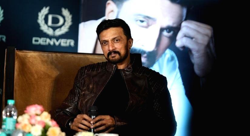 Kannada star Kiccha Sudeep roped in as fragrance brand ambassador.(photo:ianslife)