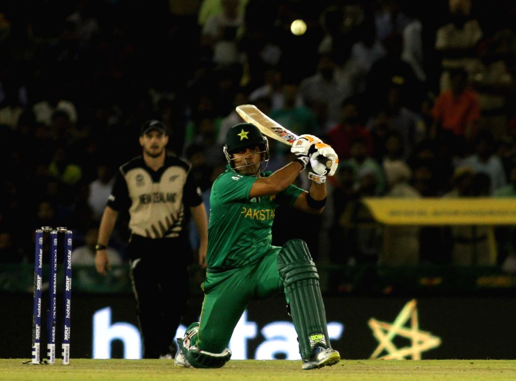 Karachi, April 27 (IANS) The Pakistan Cricket Board has banned Umar Akmal from all forms of the game for three years on corruption charges.(File Photo: Surjeet Yadav/IANS) - Surjeet Yadav