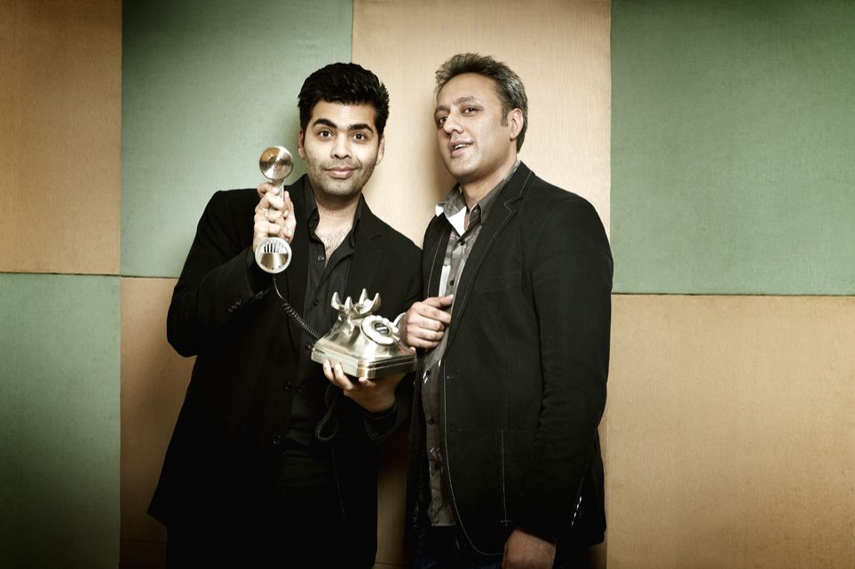 Karan Johar and Varun Bahl