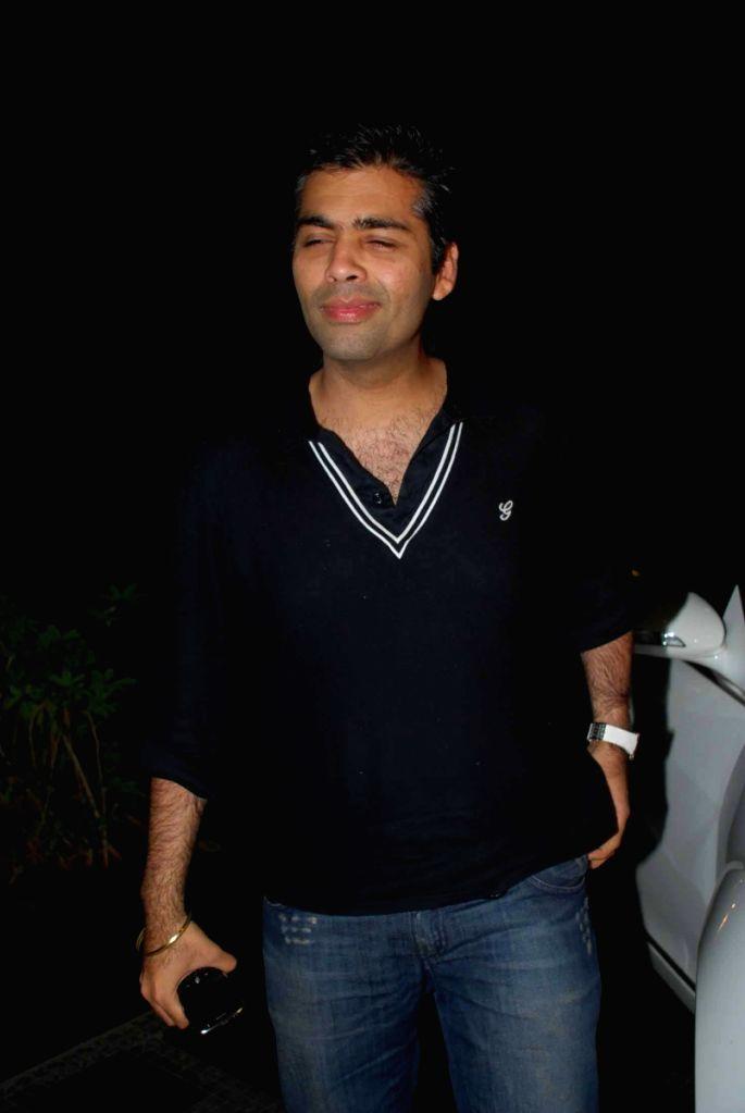 Karan Johar at Vikram Chatwal's bash. - Karan Johar