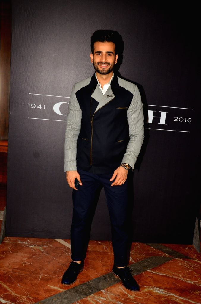 Karan Tacker during the Coach launch celebrations in Mumbai, on Aug 4, 2016. Coach celebrates  the launch of its first store in India.