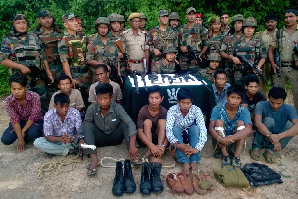 Karbi Anglong: Eleven cadres of Karbi People's Liberation Tiger (KPLT), United Peoples Liberation Army (UPLA) and Hill Tiger Force (HTF) who were apprehended by security personnel following a ...
