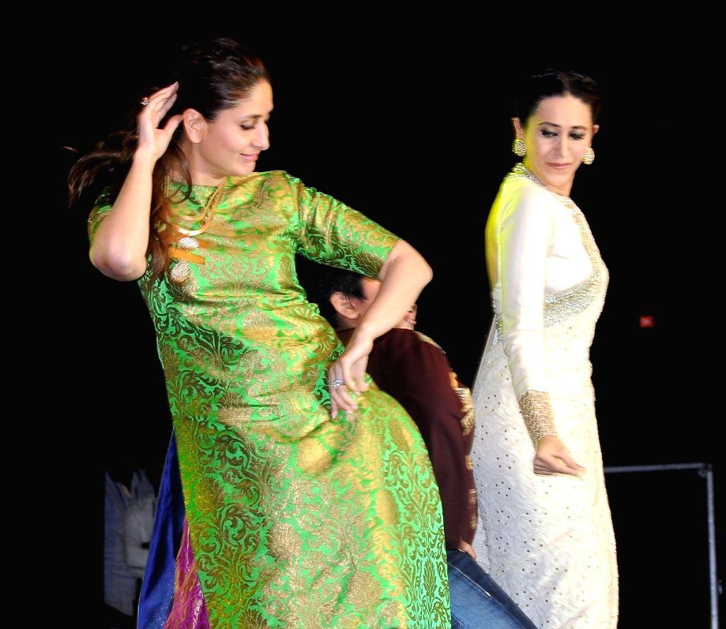 Kareena, Karisma and Tabu the 19th The GOLDEN ELEPHANT ICFFI International Children`s Film Festival in Hyderabad on November 15, 2015.