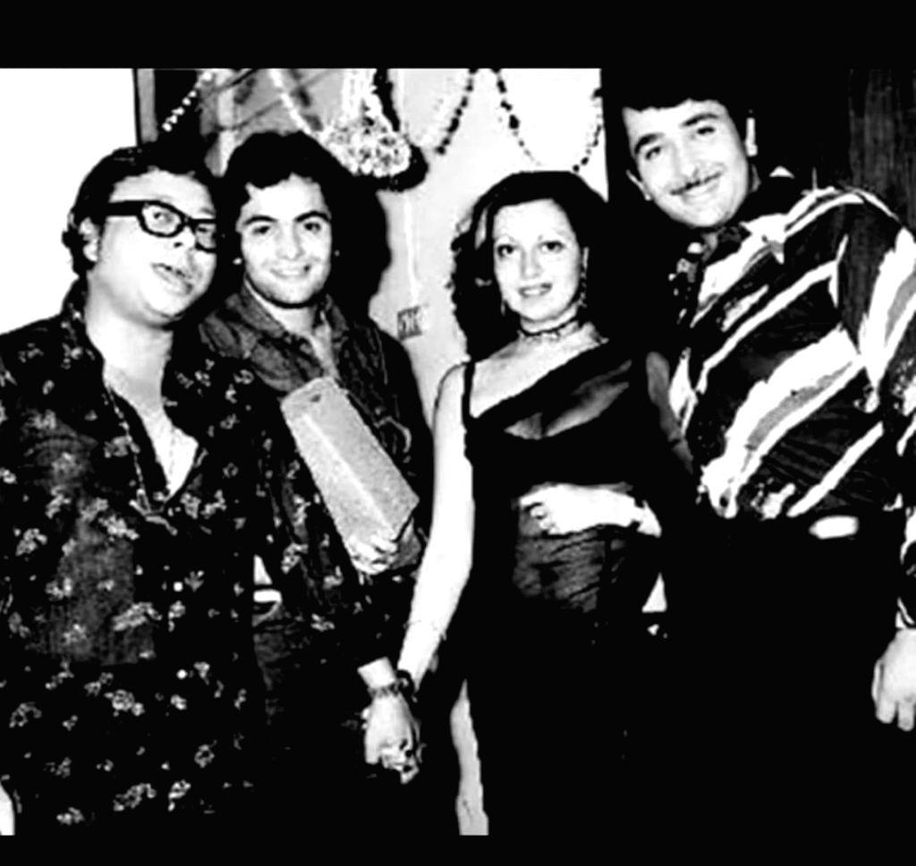 Kareena shares 'irreplaceable' pic: Rishi, Randhir, Babita, RD Burman in 1 frame.