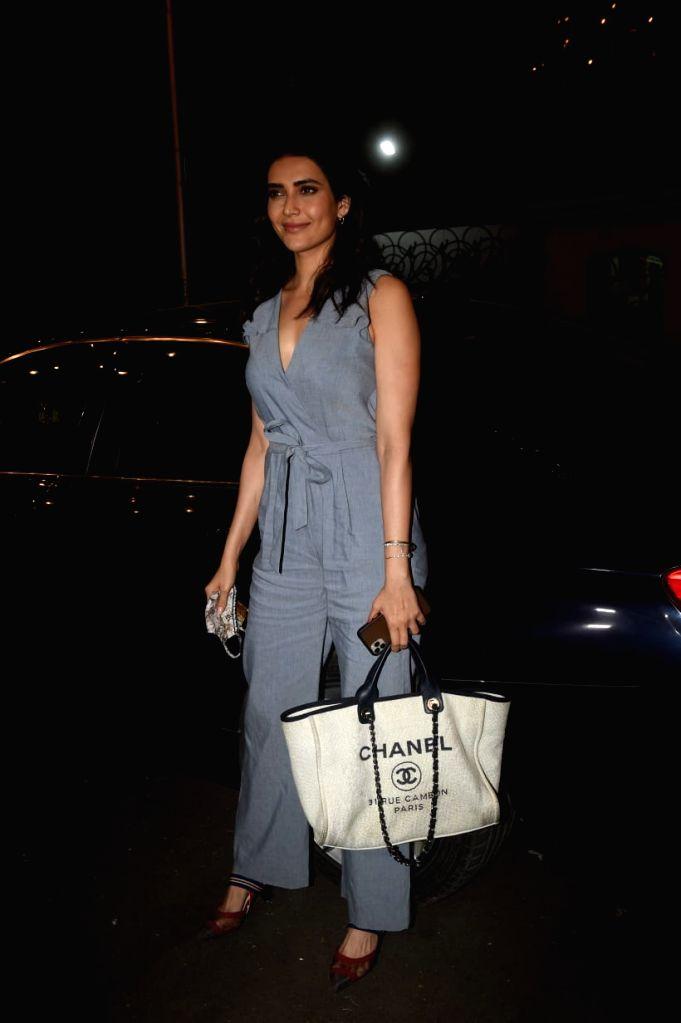 Karishma Tanna, krystle d'souza & OTHERS Spotted At Ekta Kapoor's Son Birthday Party.(Ians:photo) - Ekta Kapoor