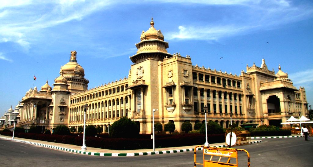 Karnataka Assembly (Vidhana Soudha). (File Photo: IANS)