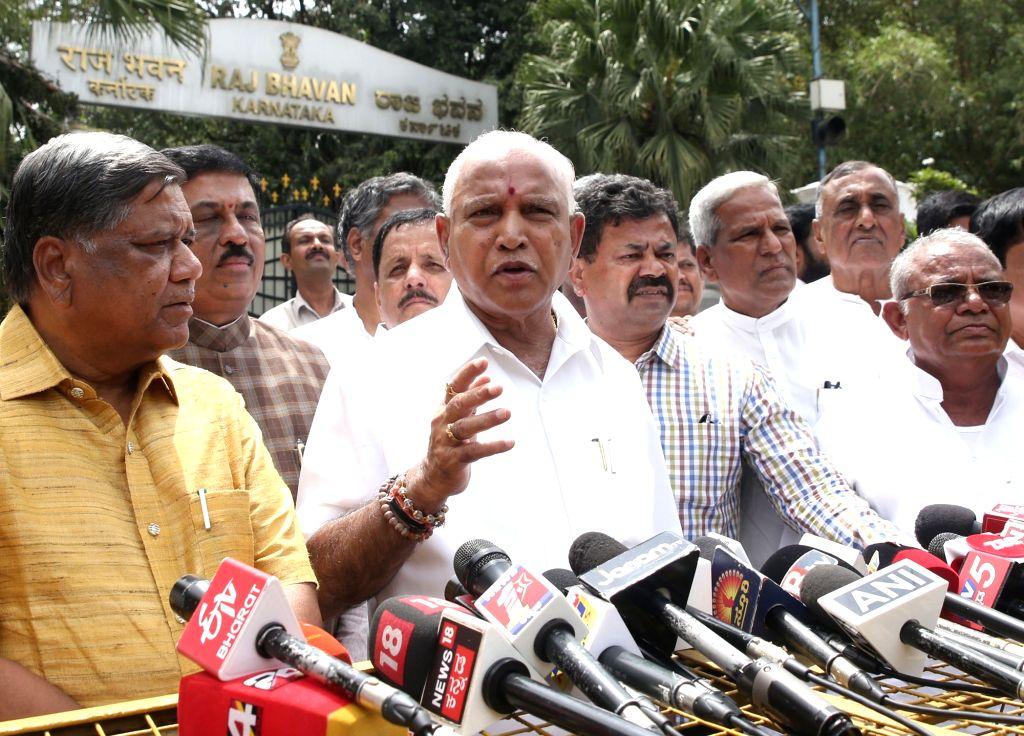 Karnataka BJP chief B.S. Yeddyurappa. (Photo: IANS)