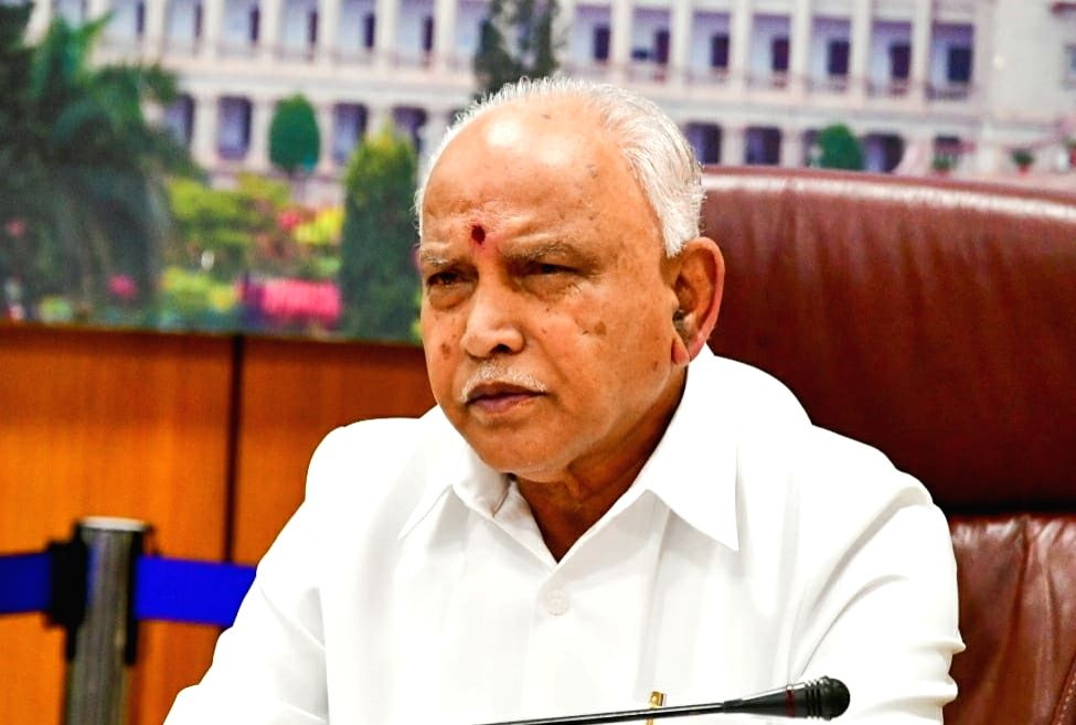 Karnataka Chief Minister B. S. Yediyurappa. - B. S. Yediyurappa