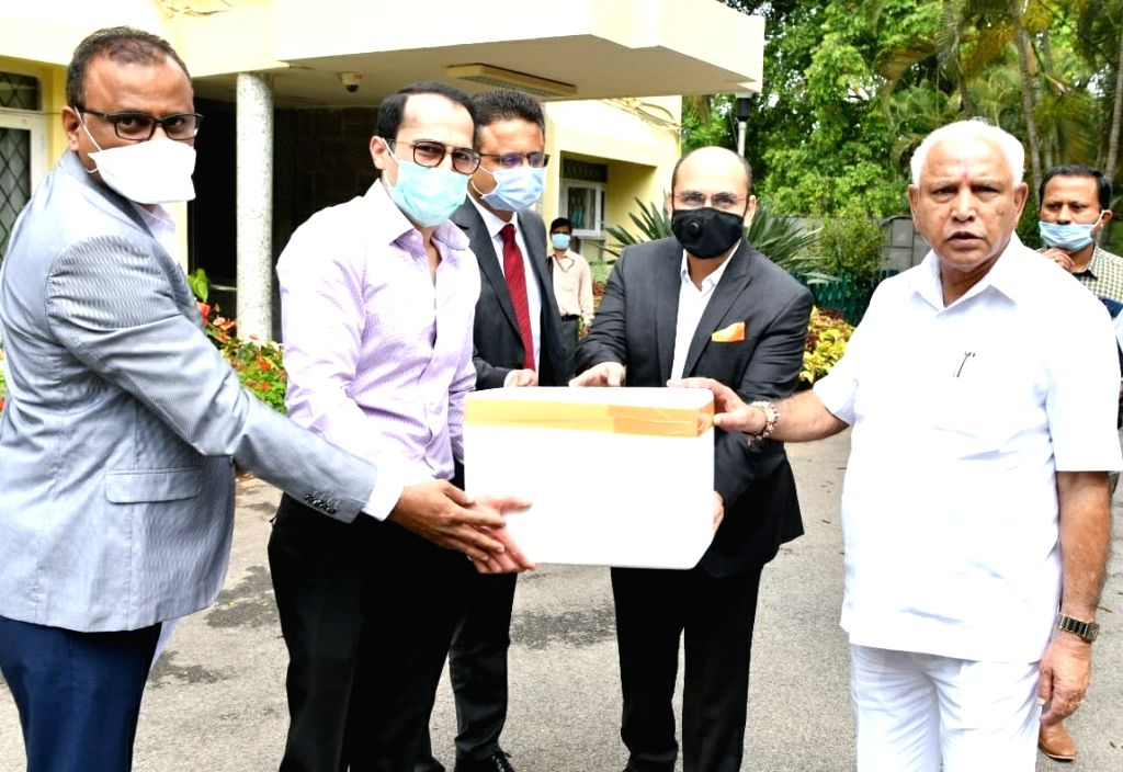 Karnataka Chief Minister B. S. Yediyurappa on Saturday pleaded with Covid donors to transfer donations online, rather than meeting him personally with cheques to uphold physical distancing ... - B. S. Yediyurappa