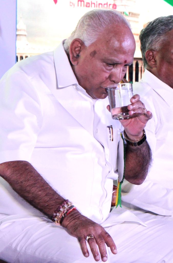 Karnataka Chief Minister BS Yediyurappa during an interactive session organised by Karnataka Small Scale Industries Association (KASSIA), in Bengaluru on Feb 8, 2020. - B