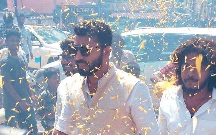 Karnataka Congress MLA N. A. Harris son Nalapad is in the dock again for an accident in Bengaluru.
