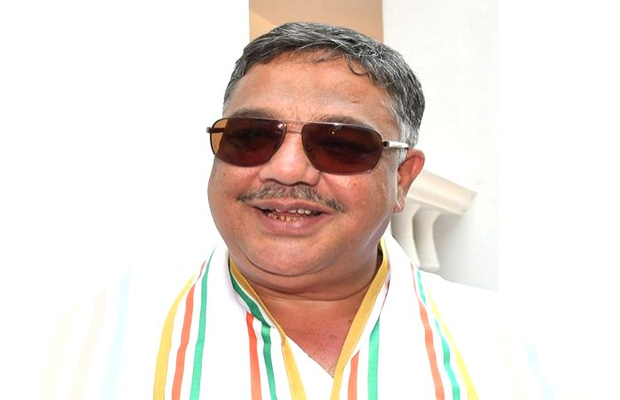 Karnataka Congress MLA Tanveer Sait who was attacked by an unknown person at an event in Mysuru in the early hours of Nov 18, 2019. (File Photo: IANS)