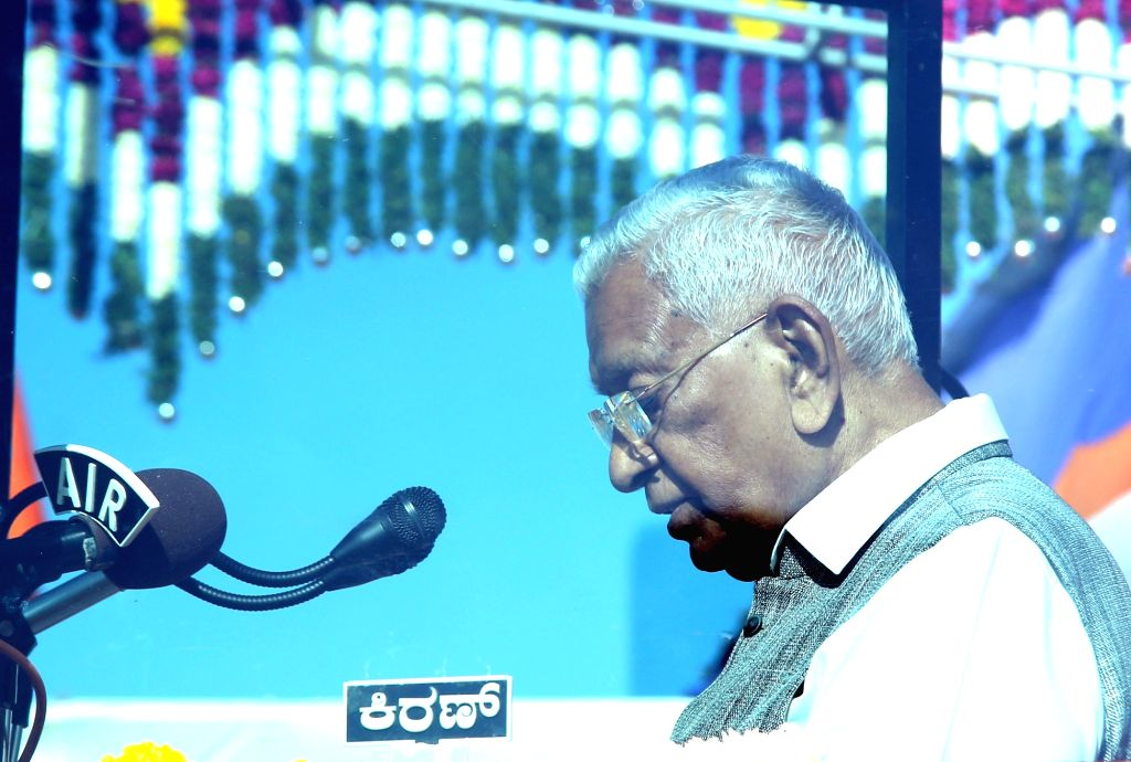 Karnataka Governor Vajubhai Vala. (Photo: IANS)