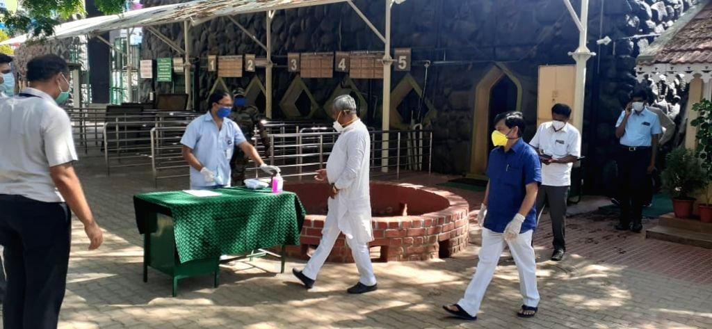 Karnataka Minister for Co-Operation S. T. Somasekhara Gowda has adopted an elephant at the Mysuru Zoo for a year.